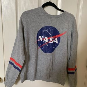 Gray NASA shirt